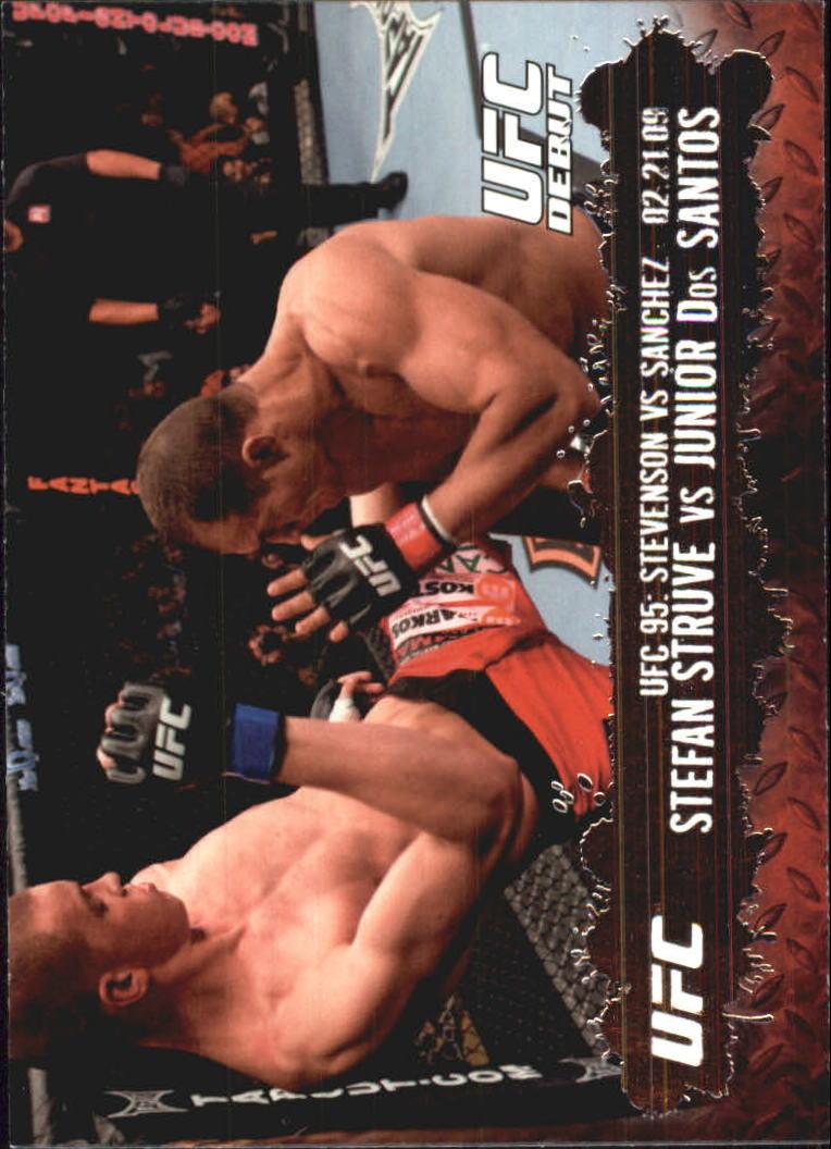2009 Topps UFC #138 Stefan Struve/Junior Dos Santos