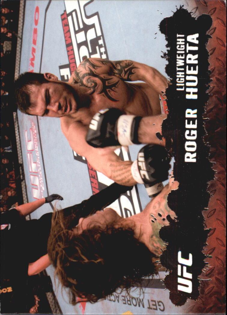 2009 Topps UFC Silver 188 #6 Roger Huerta