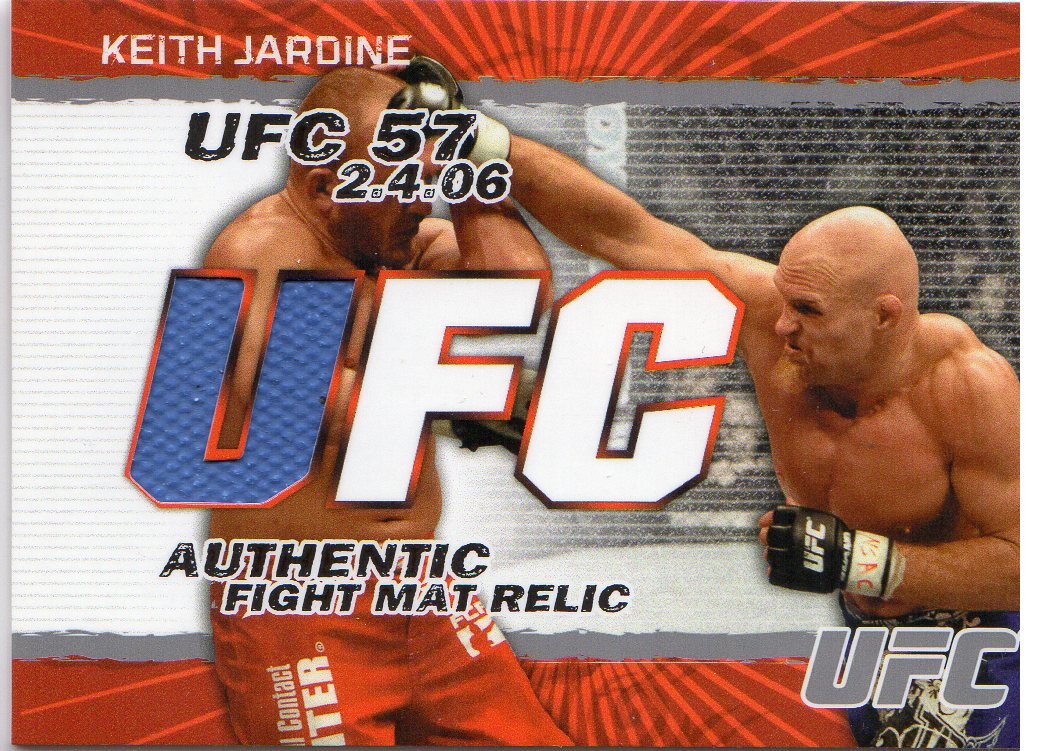 2009 Topps UFC Fight Mat Relics #FMKJ Keith Jardine E