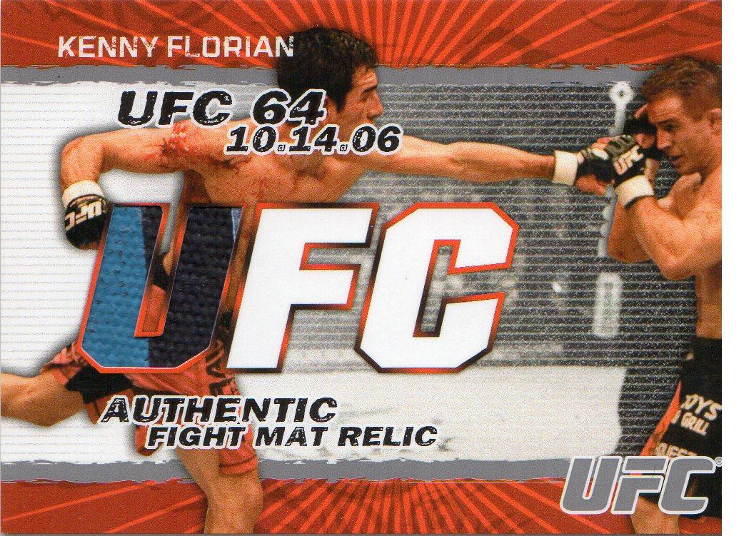 2009 Topps UFC Fight Mat Relics #FMKF Kenny Florian C