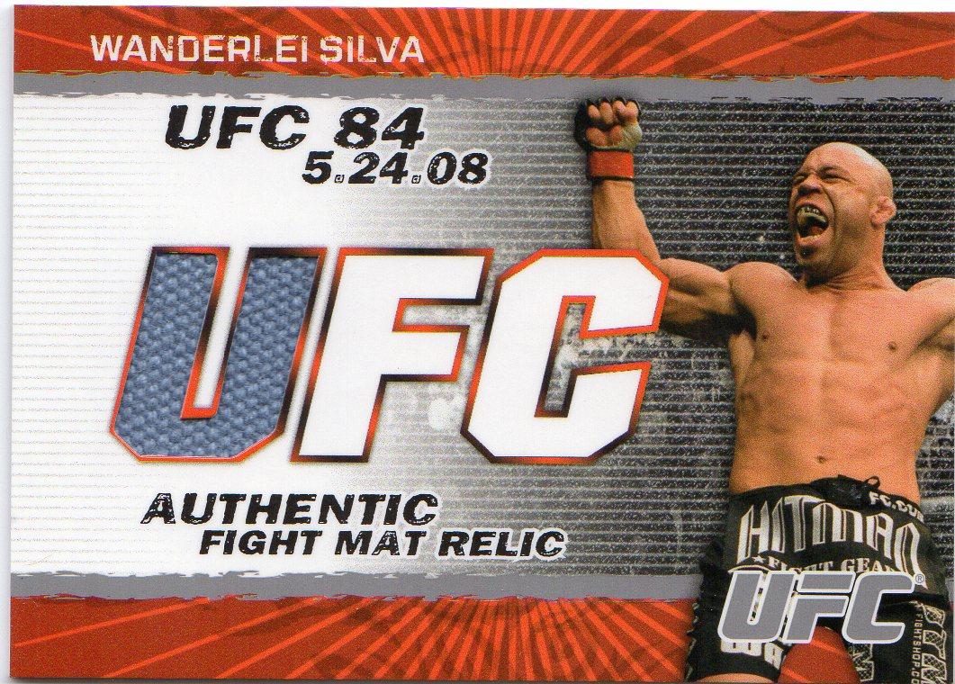 2009 Topps UFC Fight Mat Relics #FMWS Wanderlei Silva E