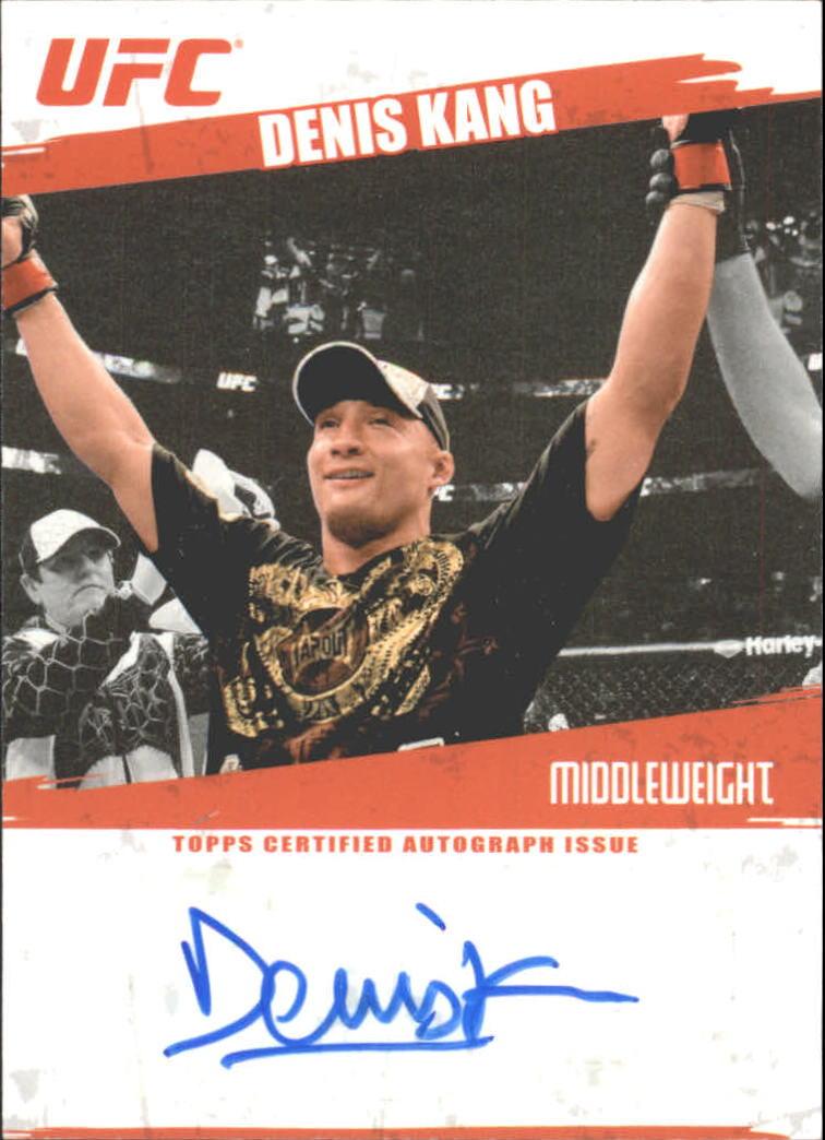 2009 Topps UFC Autographs #FADK Denis Kang C
