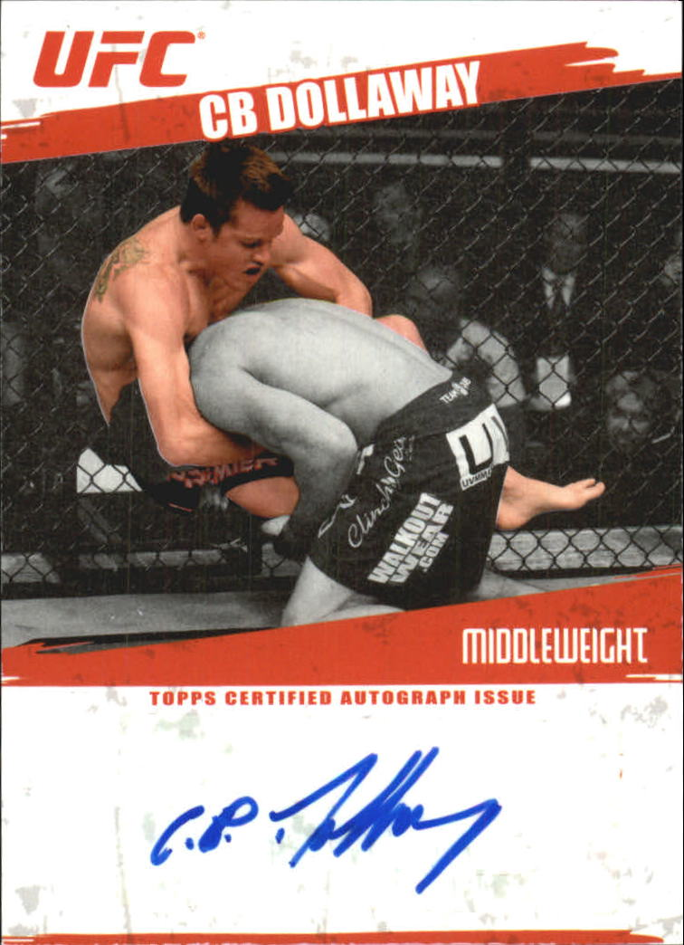 2009 Topps UFC Autographs #FACBD CB Dollaway F