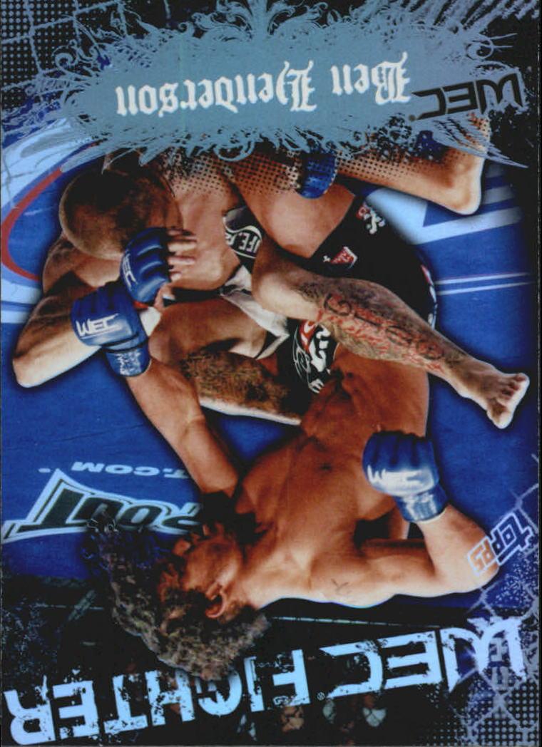 2010 Topps UFC Main Event #149 Ben Henderson