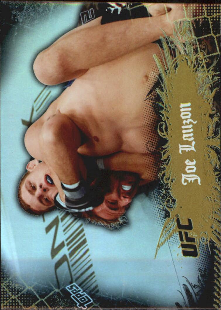 2010 Topps UFC Main Event Gold #5 Joe Lauzon