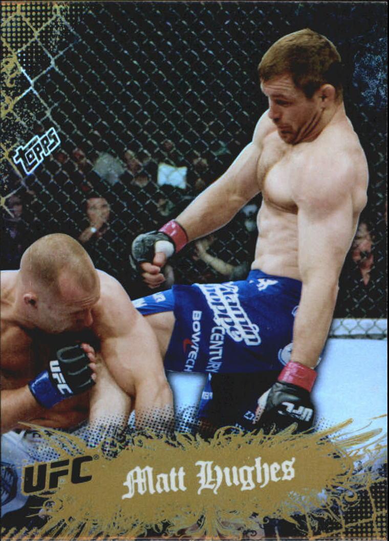 2010 Topps UFC Main Event Gold #6 Matt Hughes