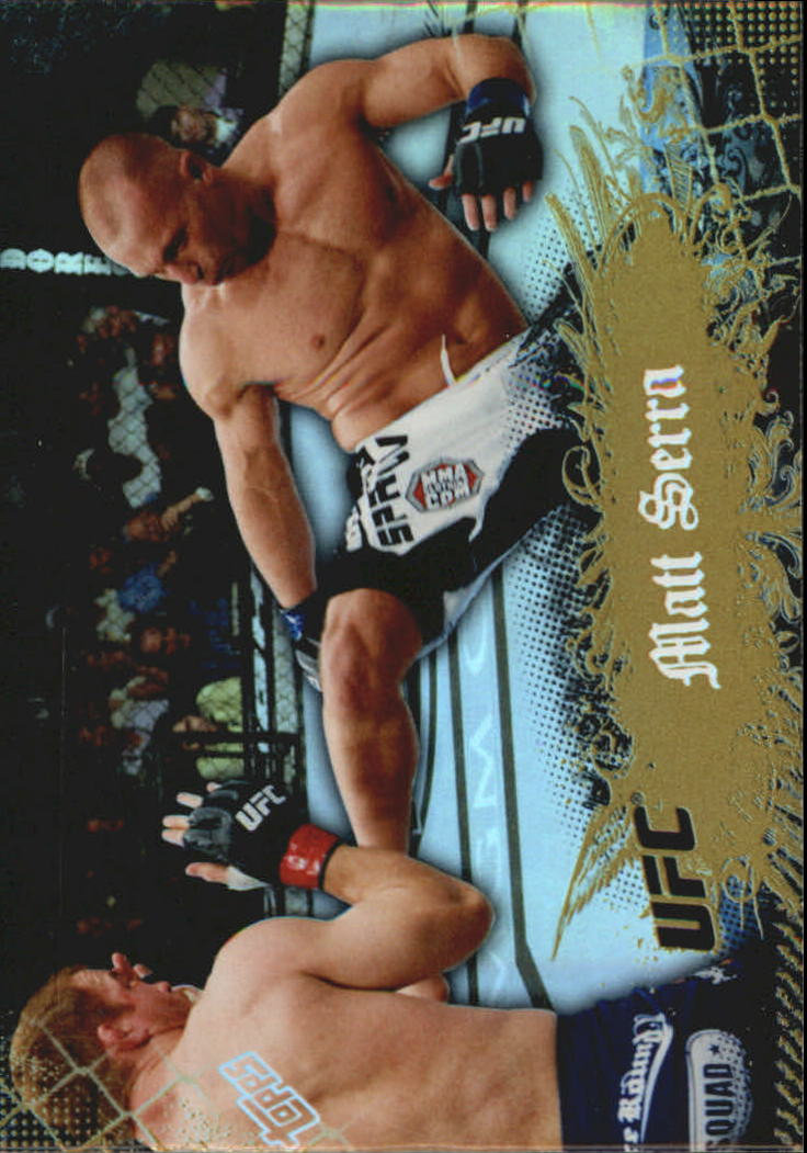 2010 Topps UFC Main Event Gold #9 Matt Serra