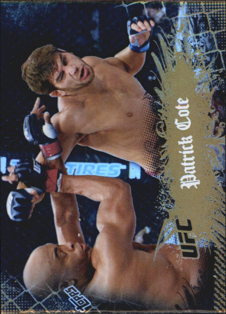 2010 Topps UFC Main Event Gold #12 Patrick Cote