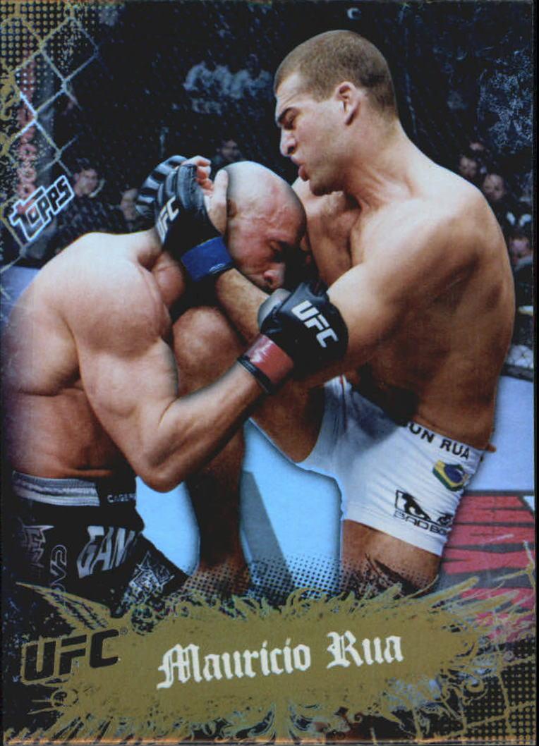 2010 Topps UFC Main Event Gold #14 Mauricio Rua