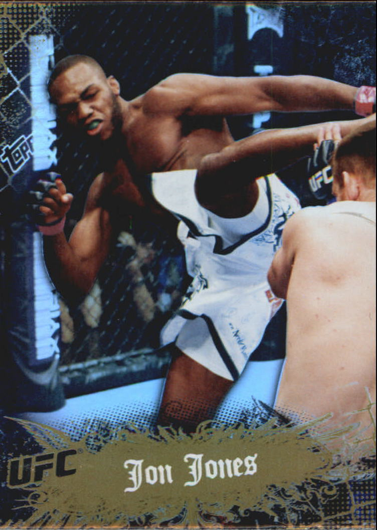 2010 Topps UFC Main Event Gold #16 Jon Jones