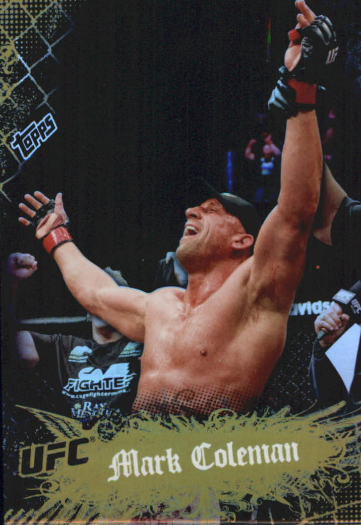 2010 Topps UFC Main Event Gold #17 Mark Coleman