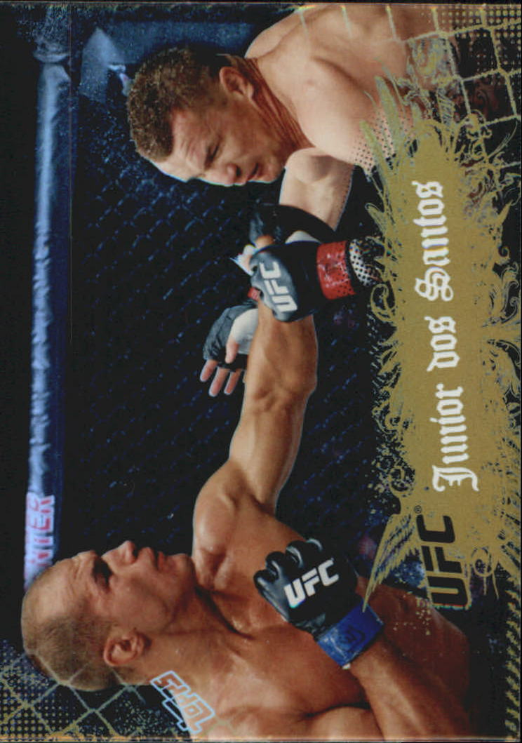2010 Topps UFC Main Event Gold #19 Junior dos Santos