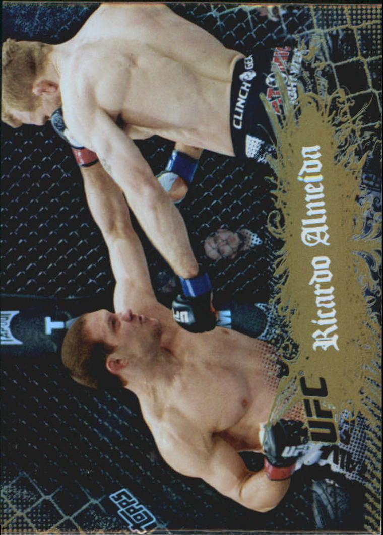 2010 Topps UFC Main Event Gold #22 Ricardo Almeida