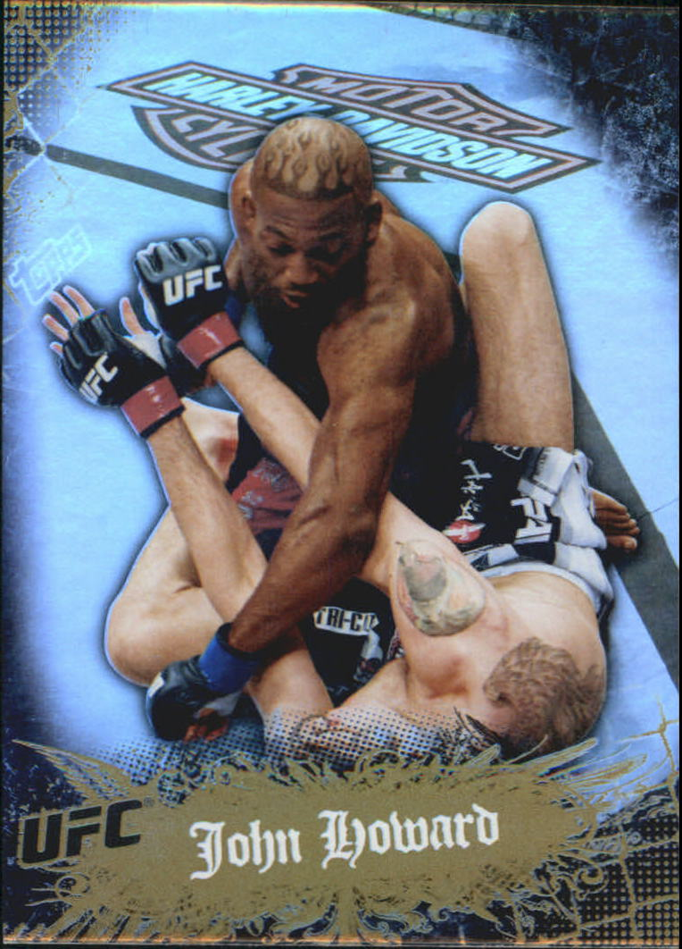 2010 Topps UFC Main Event Gold #23 John Howard