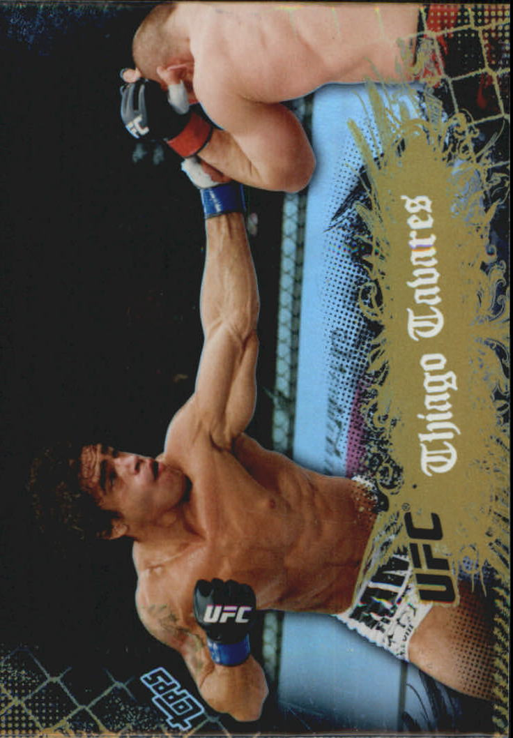 2010 Topps UFC Main Event Gold #24 Thiago Tavares