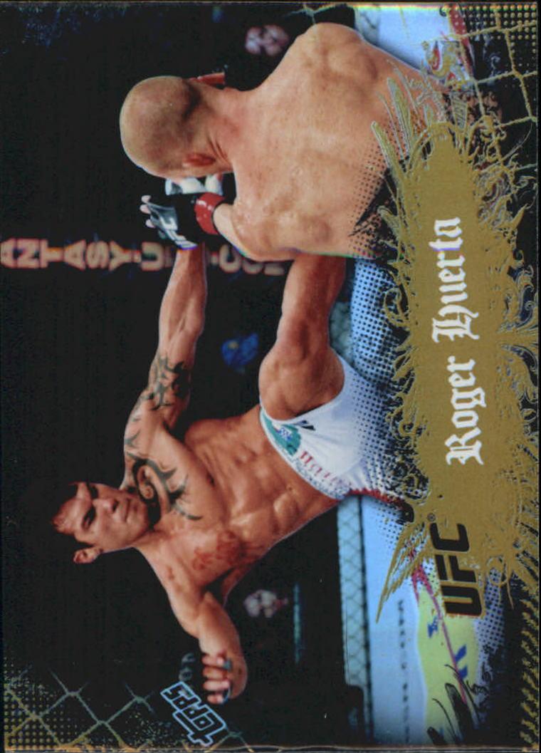 2010 Topps UFC Main Event Gold #53 Roger Huerta