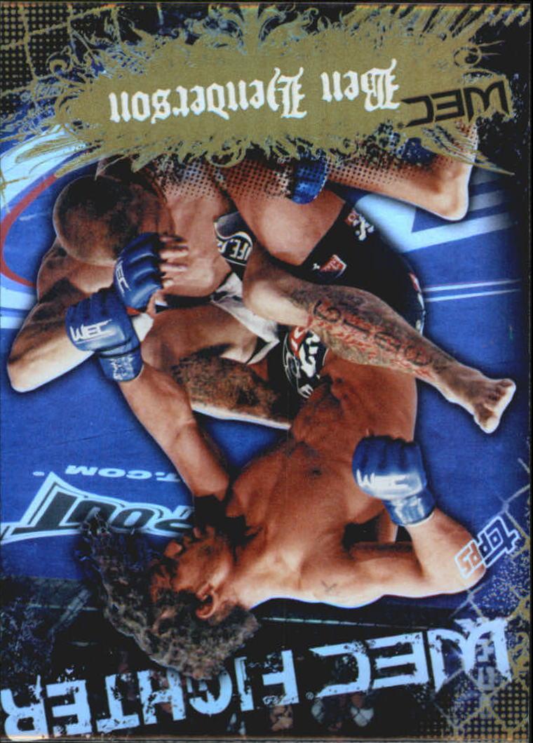 2010 Topps UFC Main Event Gold #149 Ben Henderson