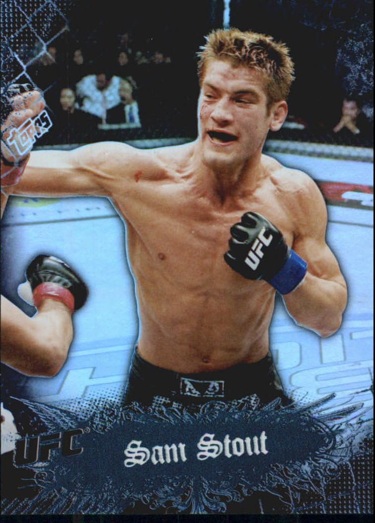 2010 Topps UFC Main Event Black #45 Sam Stout