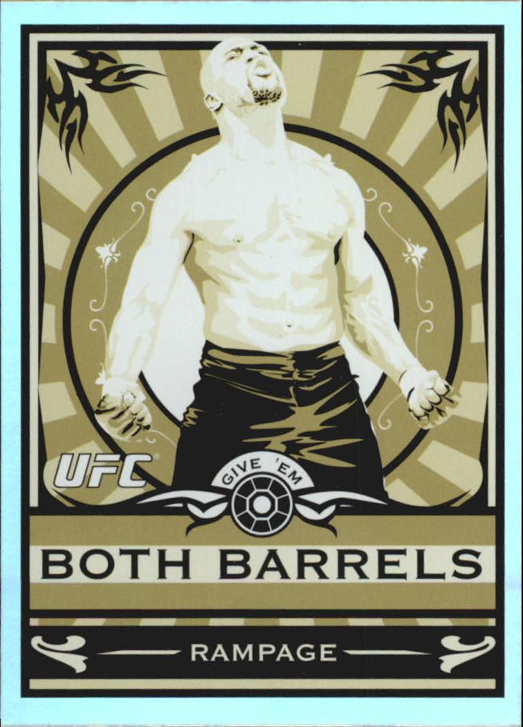 2010 Topps UFC Main Event Propaganda #MP6 Quinton Jackson
