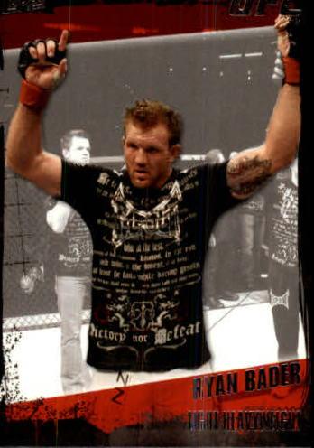 2010 Topps UFC #32A Ryan Bader