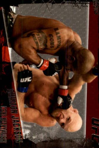 2010 Topps UFC #43A Quinton Jackson