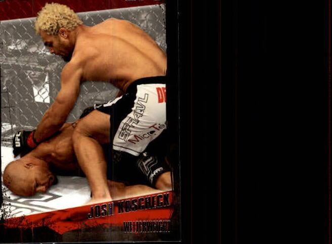 2010 Topps UFC #70 Josh Koscheck