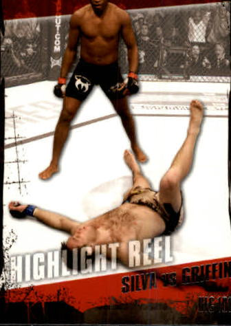 2010 Topps UFC #188 Anderson Silva/Forrest Griffin