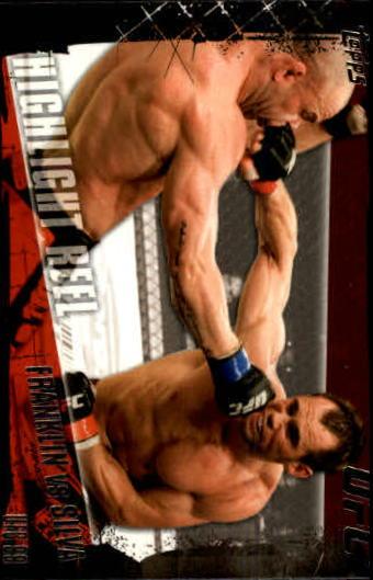 2010 Topps UFC #193 Rich Franklin/Wanderlei Silva