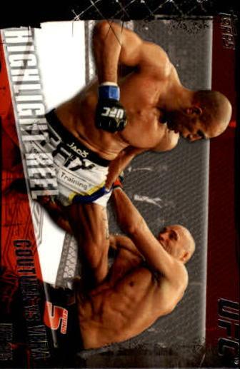 2010 Topps UFC #197 Randy Couture/Brandon Vera