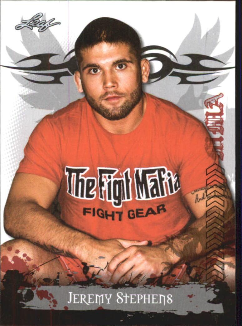 2010 Leaf MMA #3 Jeremy Stephens