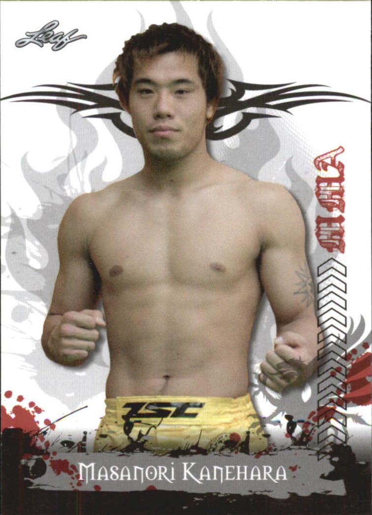 2010 Leaf MMA #6 Masanori Kanehara
