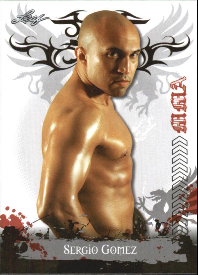 2010 Leaf MMA #11 Sergio Gomez