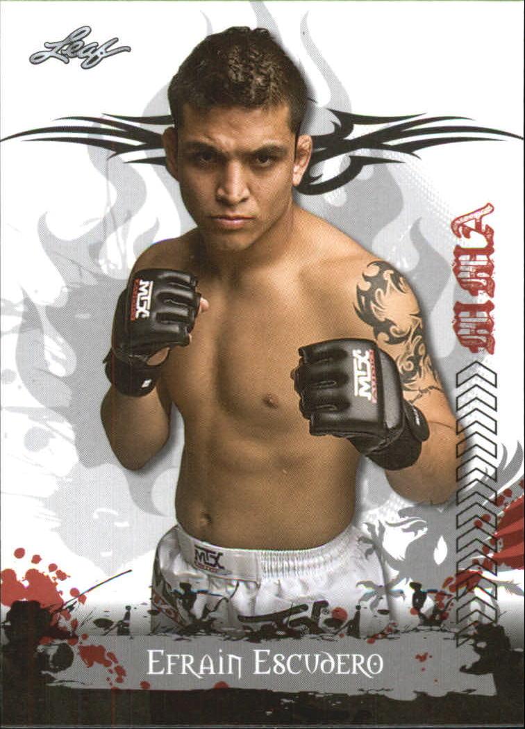 2010 Leaf MMA #12 Efrain Escudero