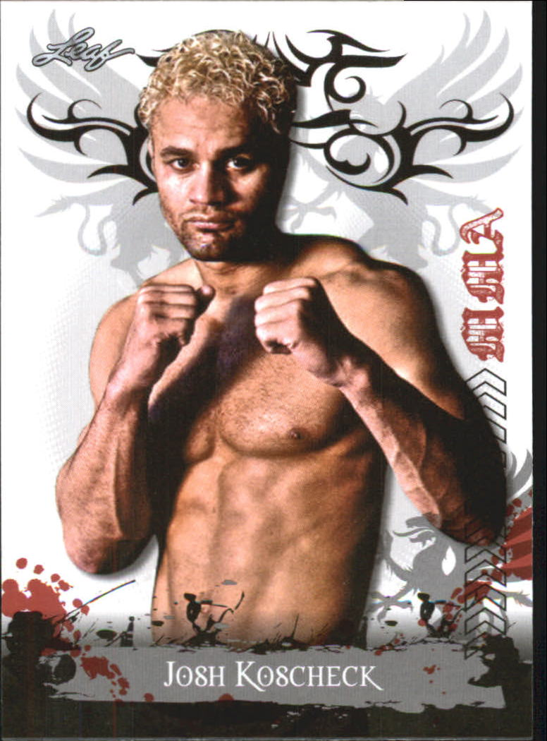 2010 Leaf MMA #15 Josh Koscheck