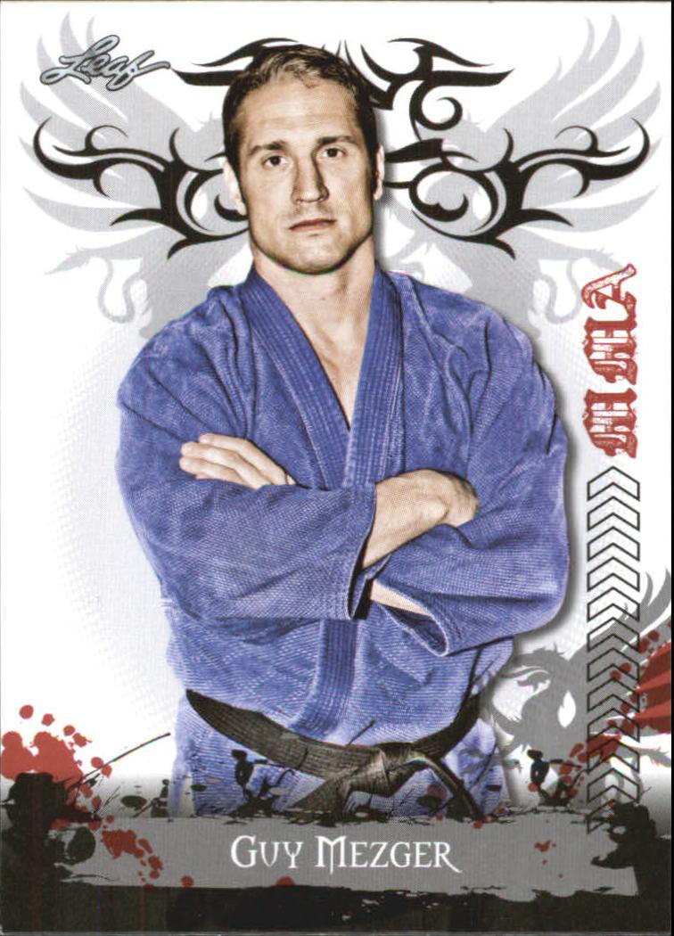 2010 Leaf MMA #16 Guy Mezger