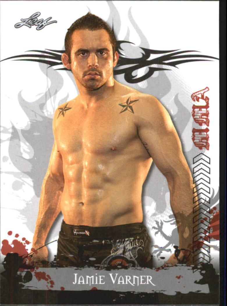 2010 Leaf MMA #18 Jamie Varner