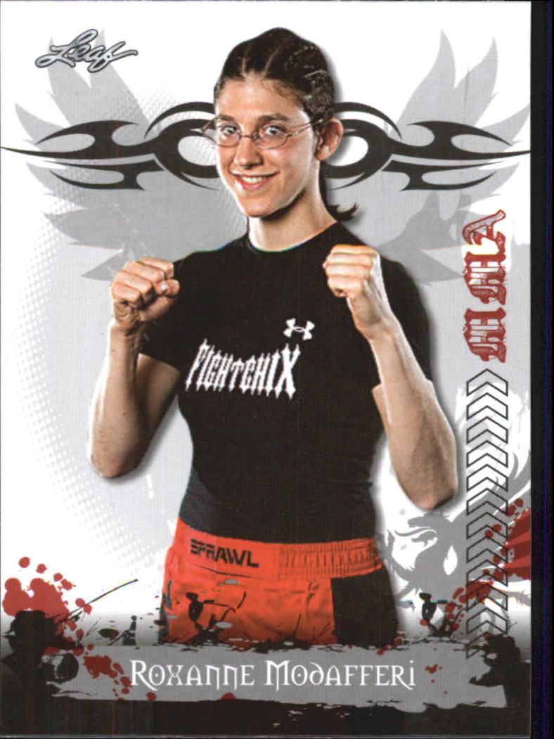 2010 Leaf MMA #21 Roxanne Modafferi