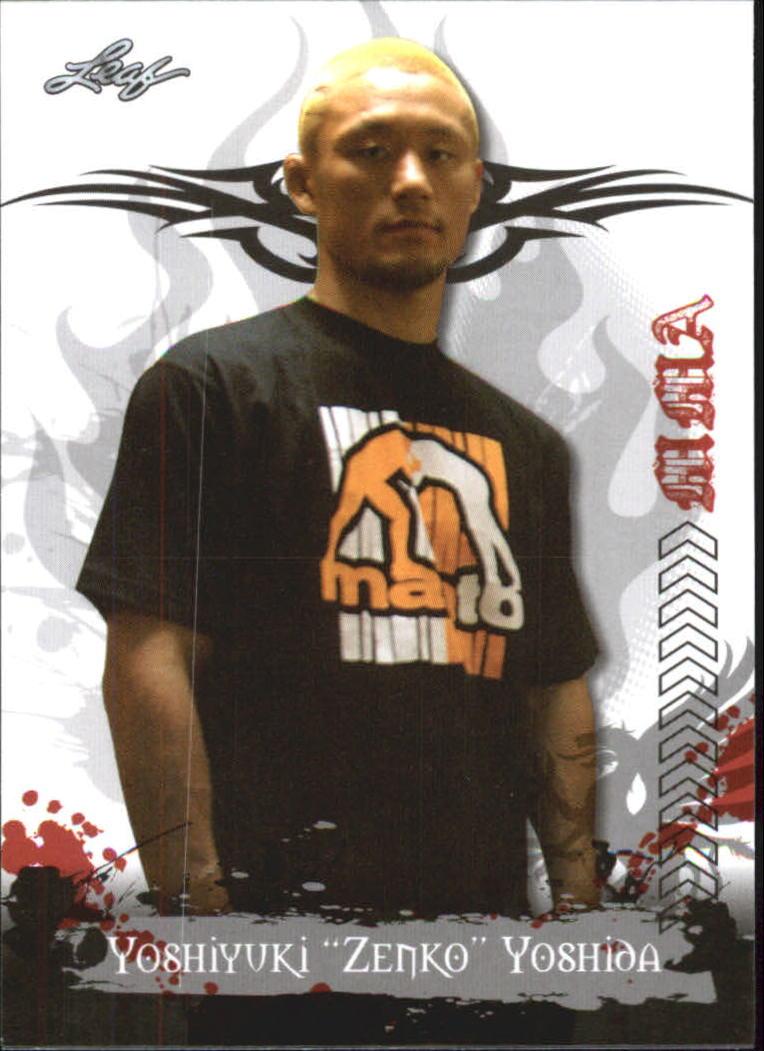 2010 Leaf MMA #27 Yoshiyuki Yoshida
