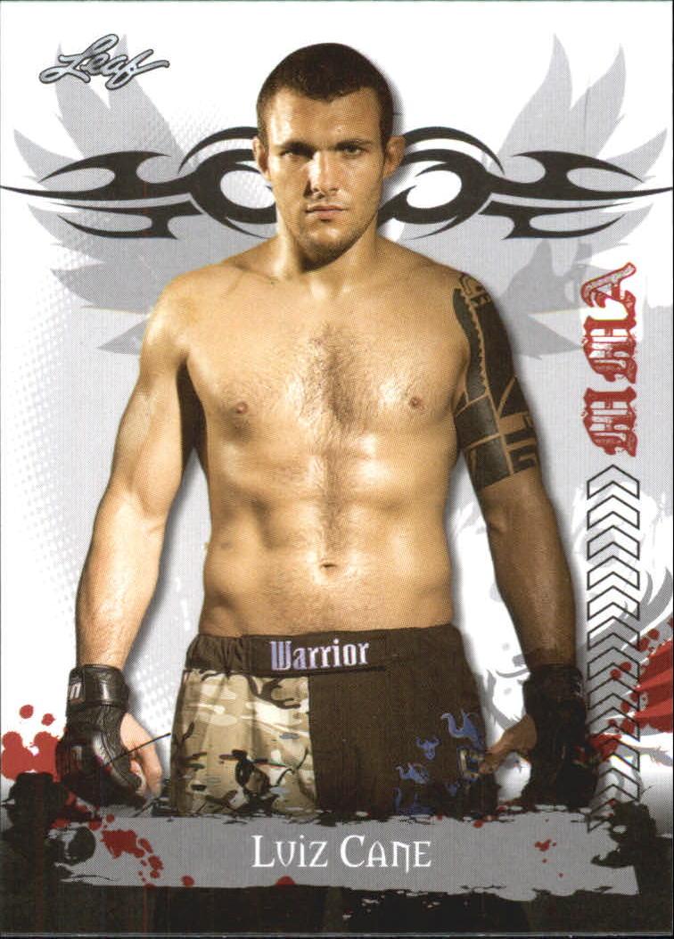 2010 Leaf MMA #29 Luiz Cane