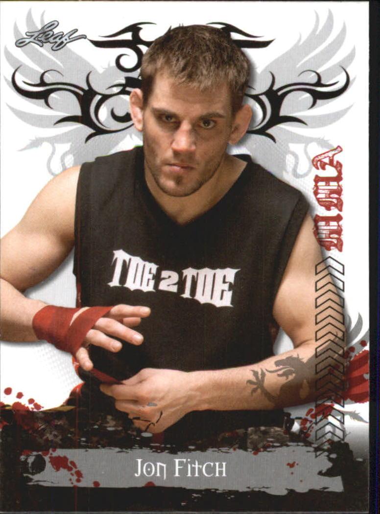 2010 Leaf MMA #35 Jon Fitch