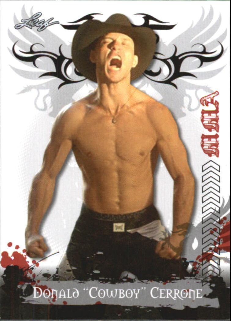 2010 Leaf MMA #36 Donald Cerrone