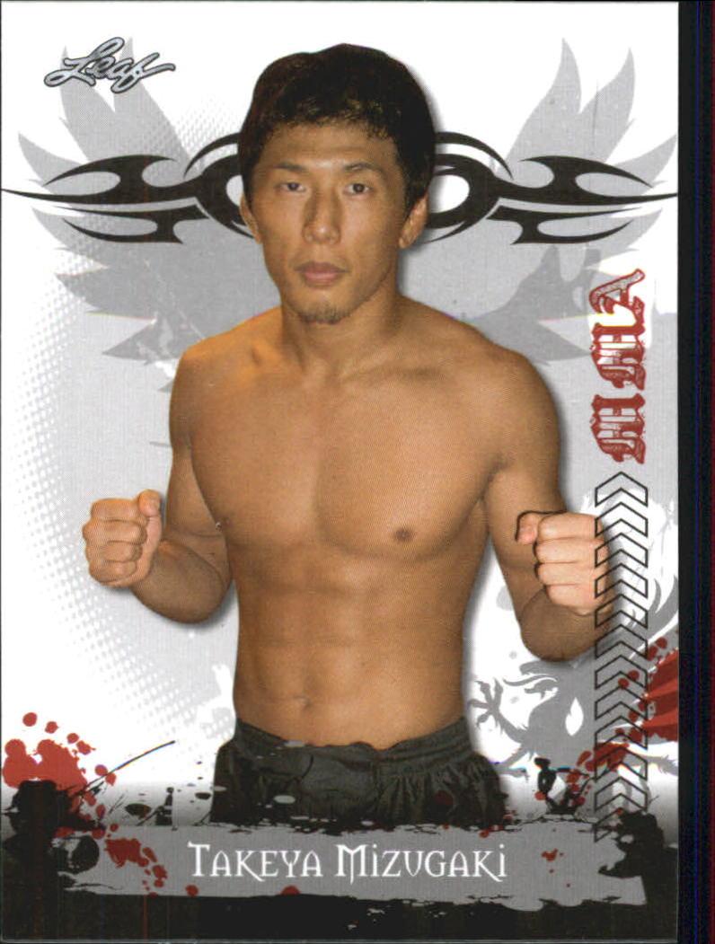 2010 Leaf MMA #37 Takeya Mizugaki