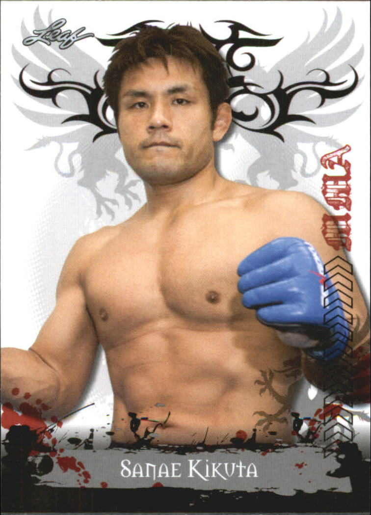 2010 Leaf MMA #46 Sanae Kikuta