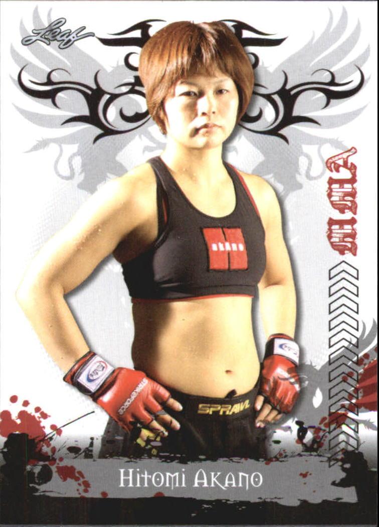 2010 Leaf MMA #51 Hitomi Akano