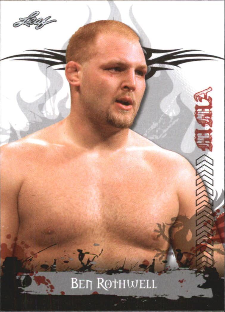 2010 Leaf MMA #53 Ben Rothwell