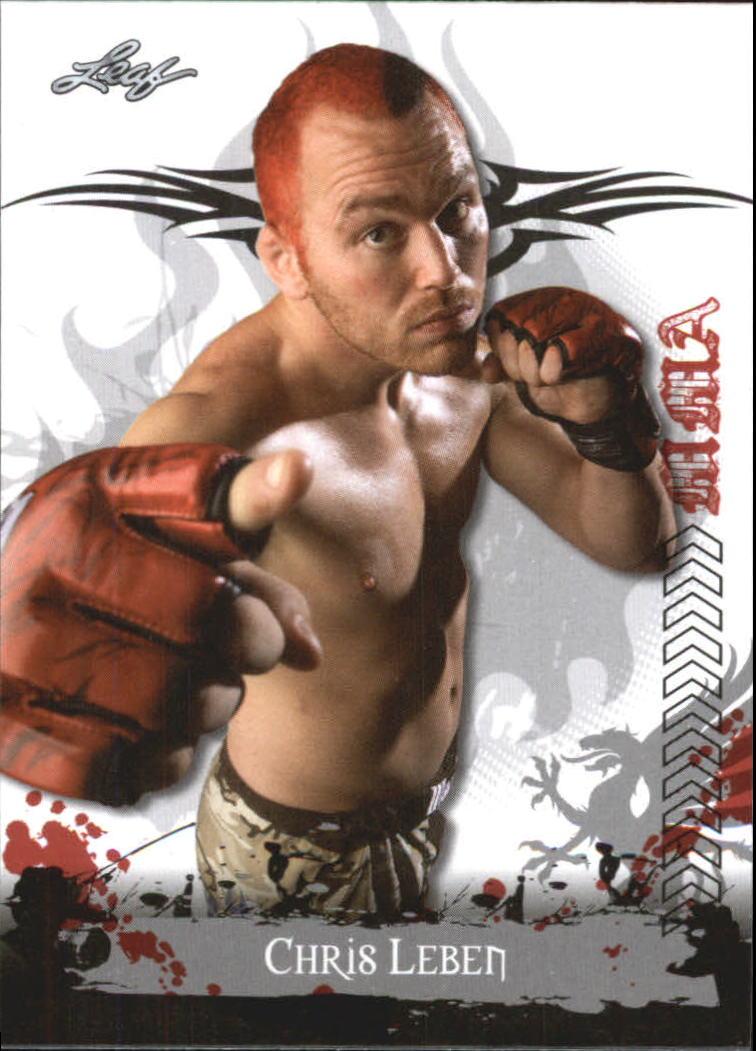 2010 Leaf MMA #58 Chris Leben