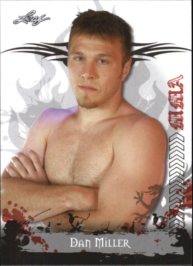 2010 Leaf MMA #59 Dan Miller