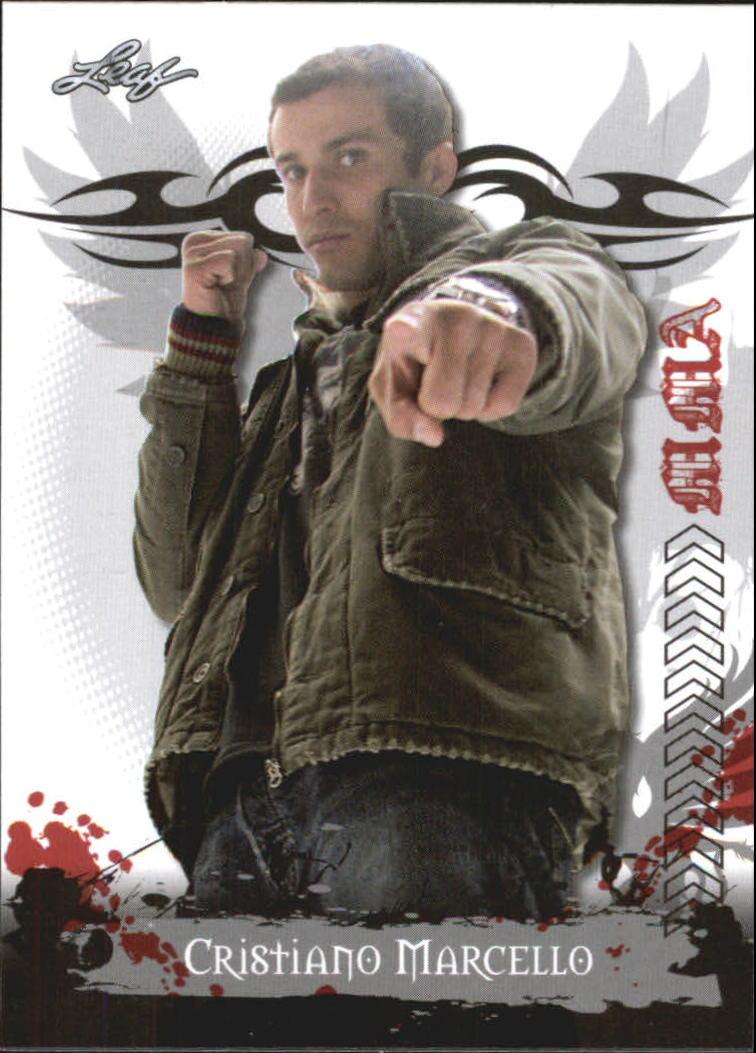 2010 Leaf MMA #61 Cristiano Marcello