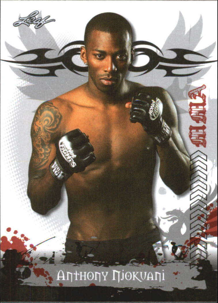 2010 Leaf MMA #68 Anthony Njokuani