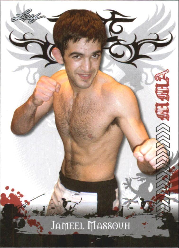 2010 Leaf MMA #69 Jameel Massouh
